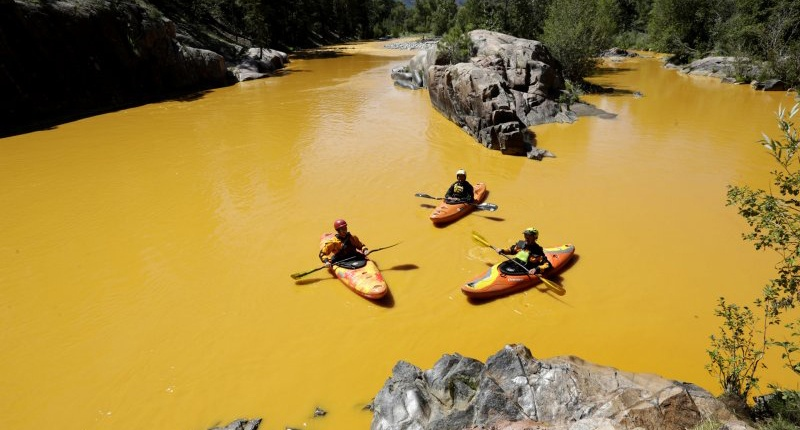 Rafting The Animas After Gold King Toxins